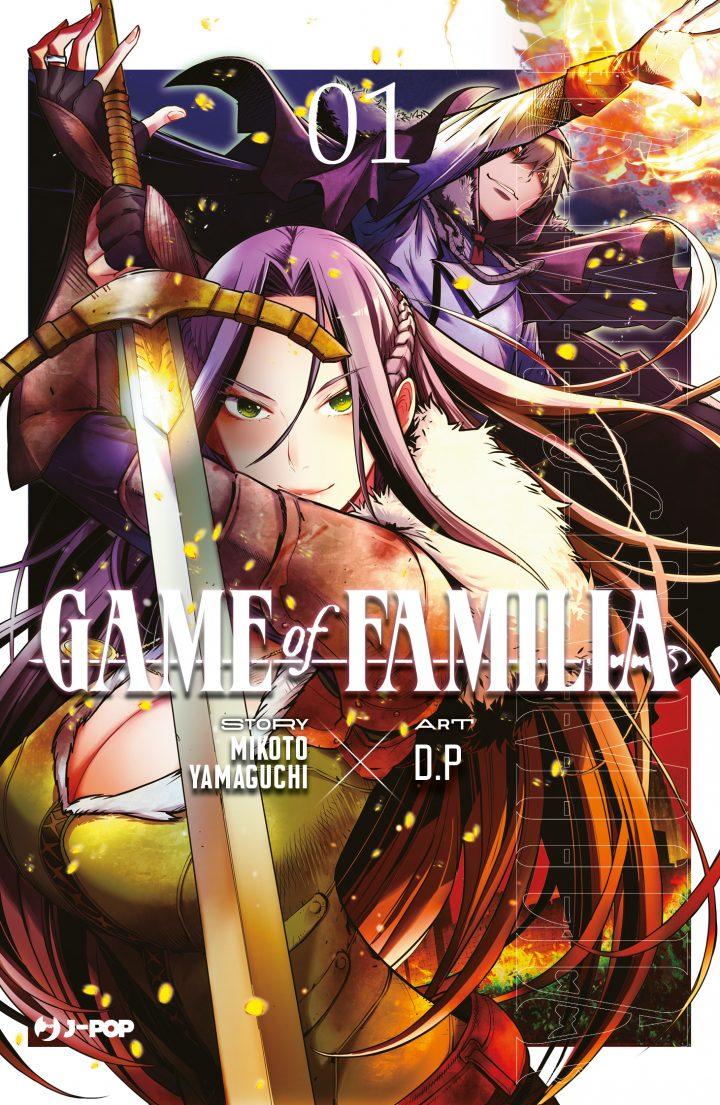 J-POP Manga presenta Game Of Familia
