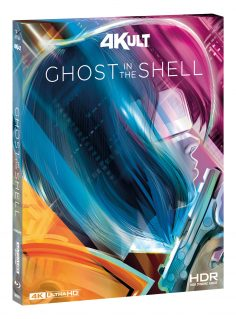 Ghost in the Shell in 4k per homevideo