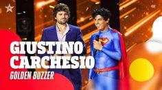 Giustino Carchesio: il superman di Italia's Got Talent