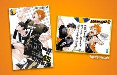 HAIKYU!! N. 45: un mini Shikishi in regalo con l'ultimo volume della serie
