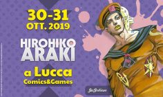 Hirohiko Araki a LC&G 2019
