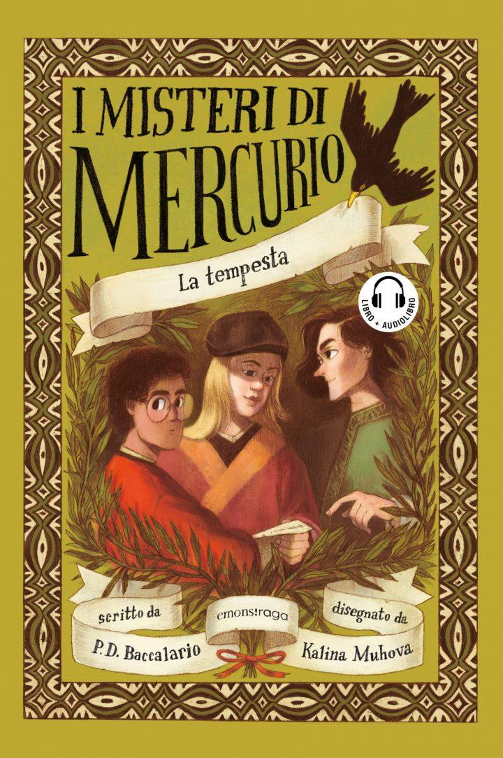 Emons: I misteri di Mercurio – da ottobre una nuova collana per ragazzi di libri & audiolibri