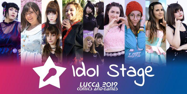 Idol stage & Ochacaffè assieme a Lucca