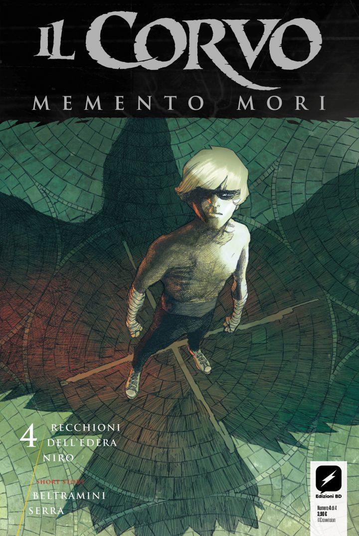 Arriva in fumetteria e libreria l'ultimo albo de Il Corvo: Memento Mori!