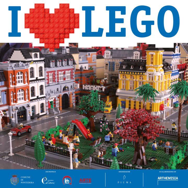 La Mostra I Love Lego a Pontedera
