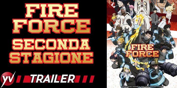 Il secondo capitolo di Fire Force da Luglio 2020