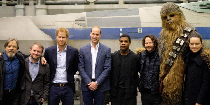I principi Harry e William in Star Wars