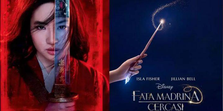 Le colonne sonore dei film Mulan e Fata Madrina Cercasi