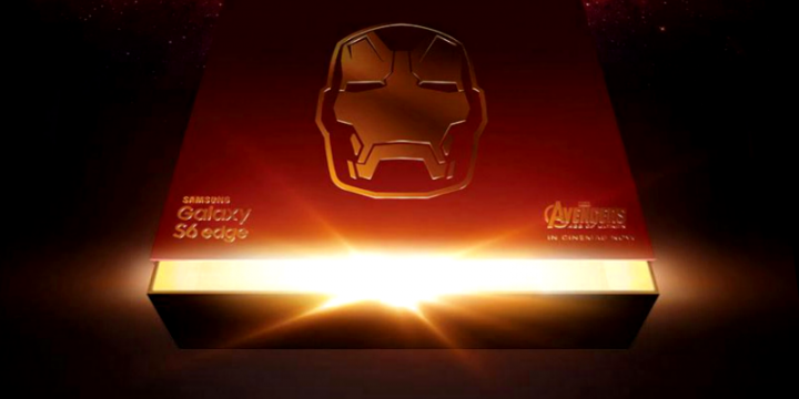 Galaxy S6 Edge Limited Iron Man Age of Ultron