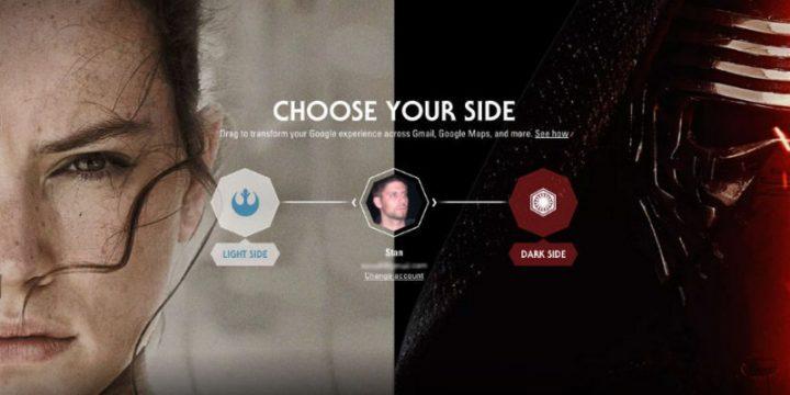App e Chrome a tema Star Wars? Da oggi è realtà!