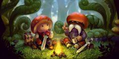 Mushroom Wars: dal videogioco al fumetto