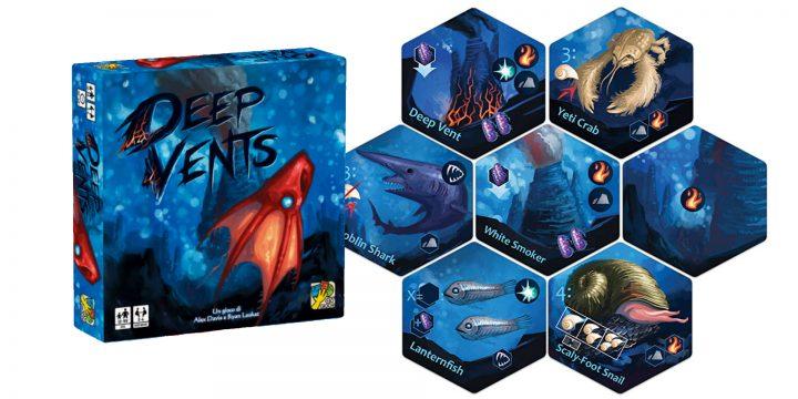 Deep Vents il gioco di T. Alex Davis & Ryan Laukat