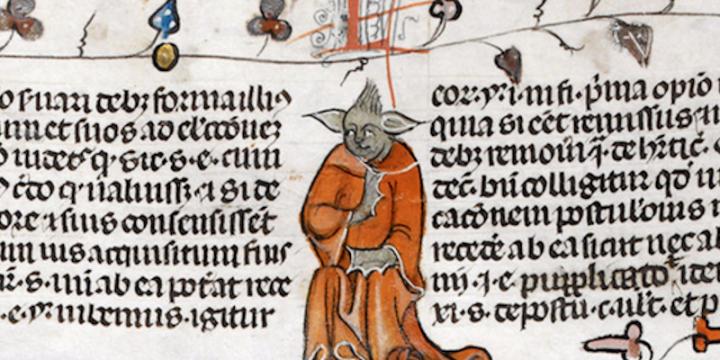 Yoda nel 1300??