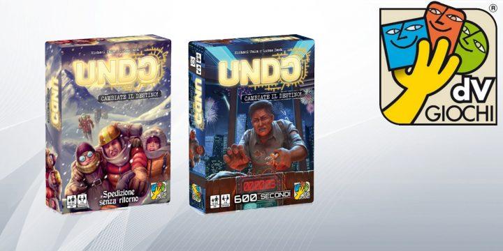 dvGiochi: due nuovi giochi della serie Undo