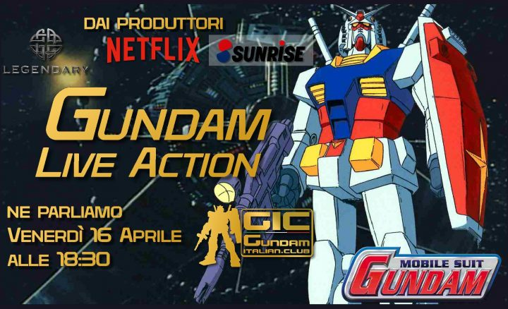 Gundam Live Action Talks!
