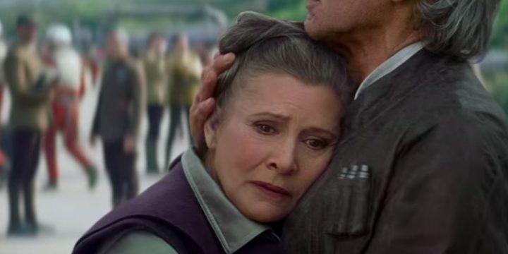 Leia non comparirà in episodio IX