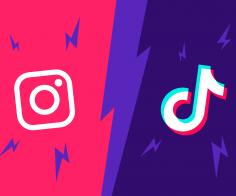 Instagram VS Tik Tok