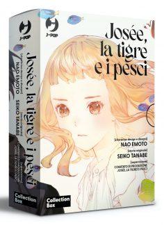 J-POP Manga presenta il box completo del Manga Josée, la Tigre e i Pesci