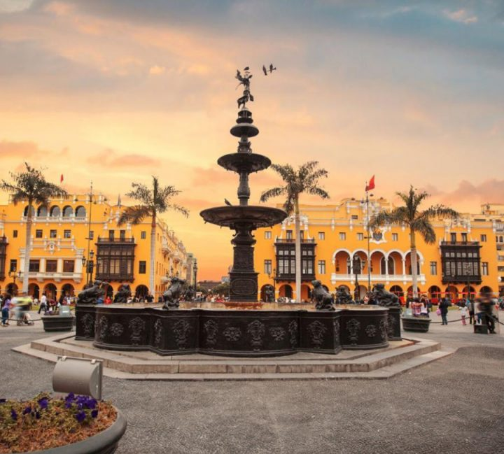 La capitale del Perù: Lima