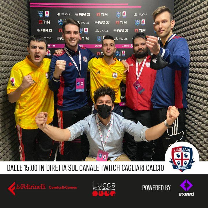 Il Cagliari Calcio eSports incontra i suoi tifosi su twitch