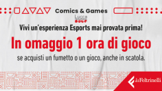 Feltrinelli Comics & Games riapre le porte dell'Area Gaming