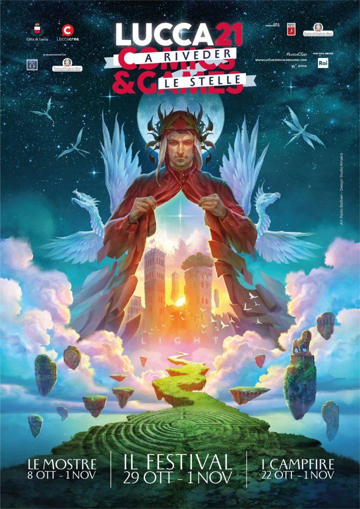 """Lucca Comics & Games 2021: """"A riveder le stelle"""""""