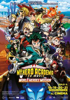 My Hero Academia World Heroes Mission finalmente è qui!