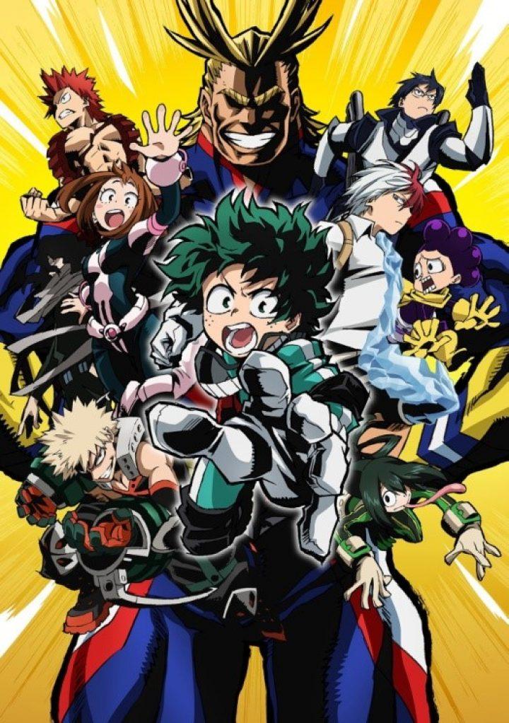 Dal 17 Settembre l'animeMy Hero Academiasarà trasmesso su Mediaset Italia 2!