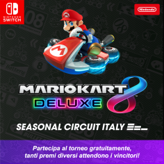 Mario Kart 8 Deluxe Seasonal Circuit Italy