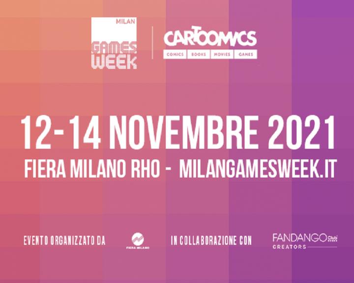 Milan Games Week & Cartoomics 2021