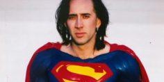 La leggenda del Superman di Tim Burton con Nicolas Cage
