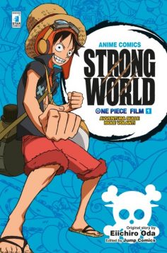 ONE PIECE STRONG WORLD ANIME COMICS