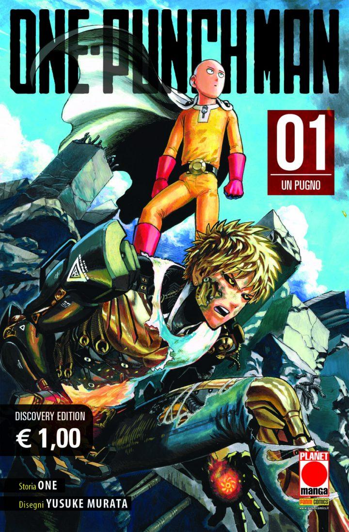 PANINI COMICS presenta ONE PUNCH MAN (Discovery edition)