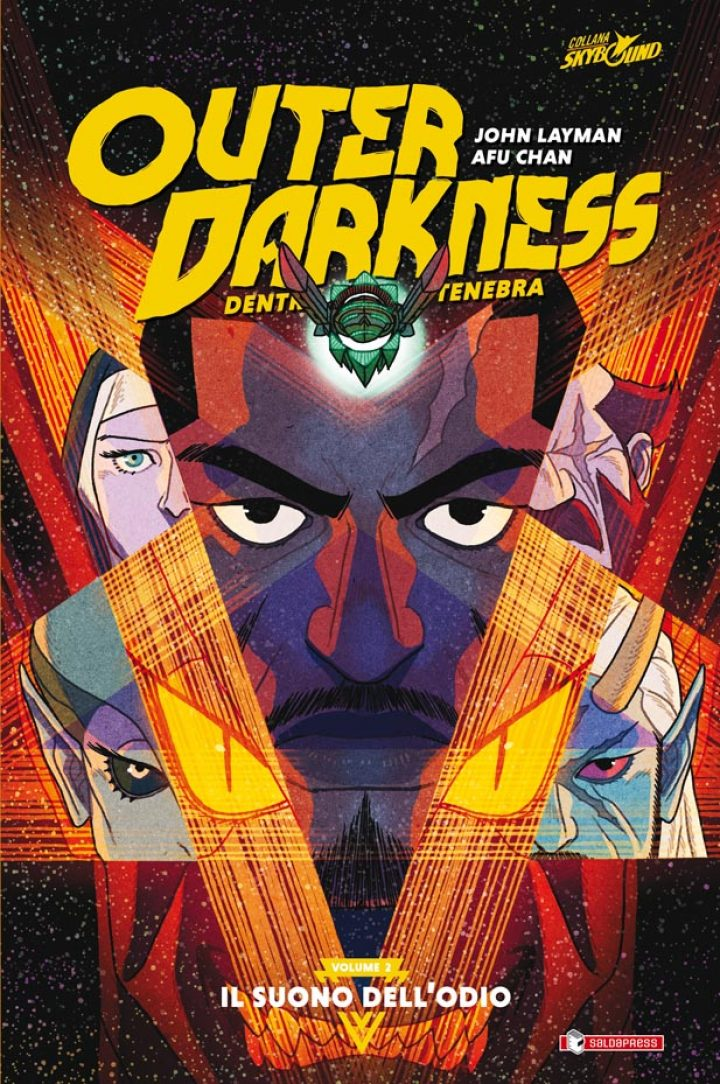 OUTER DARKNESS vol. 2 – IL SUONO DELL'ODIO di John Layman e Afu Chan esce giovedì 25 giugno