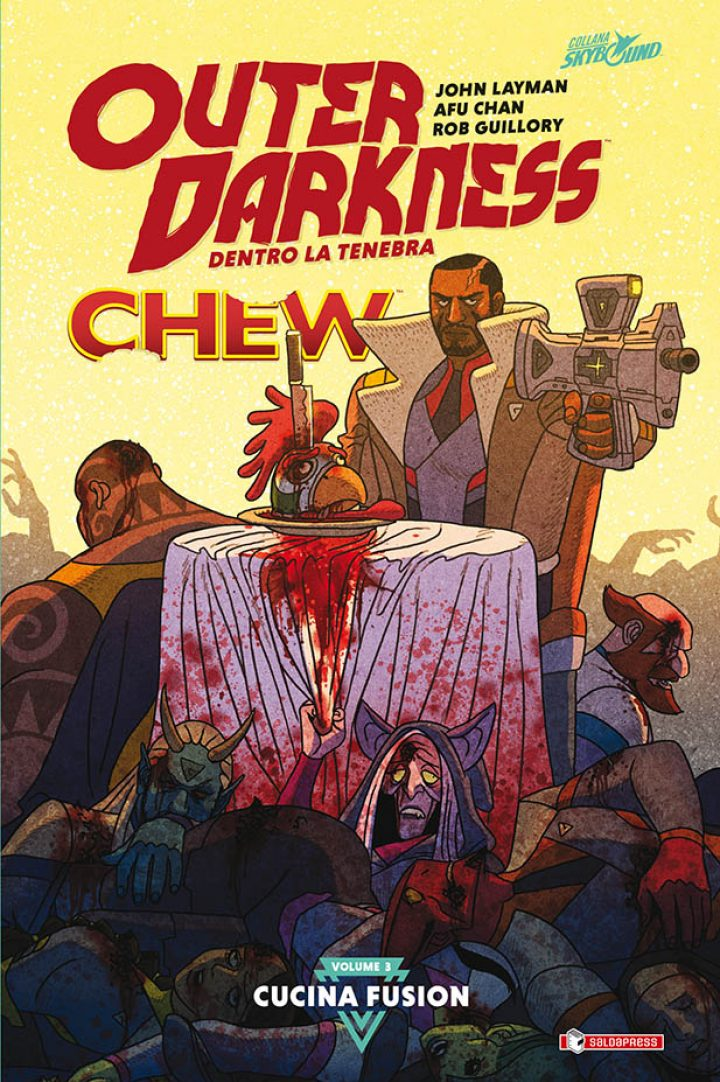 OUTER DARKNESS incontra CHEW: CUCINA FUSION