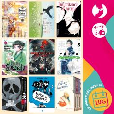 Edizioni BD & J-POP Manga: le novità del mese di luglio!