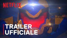 Pacific Rim: La zona oscura. La serie debutta il 4 marzo, solo su Netflix.