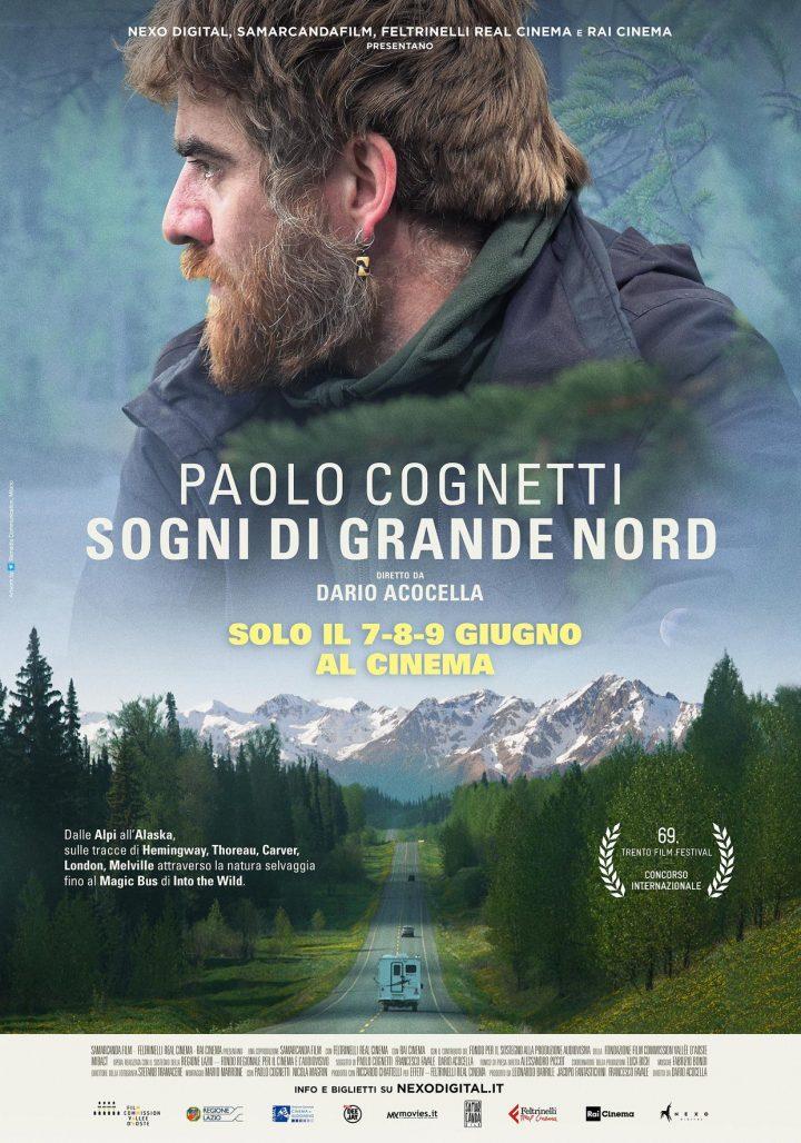 """Al cinema il 7, 8, 9 giugno """"Paolo Cognetti. Sogni di Grande Nord"""""""