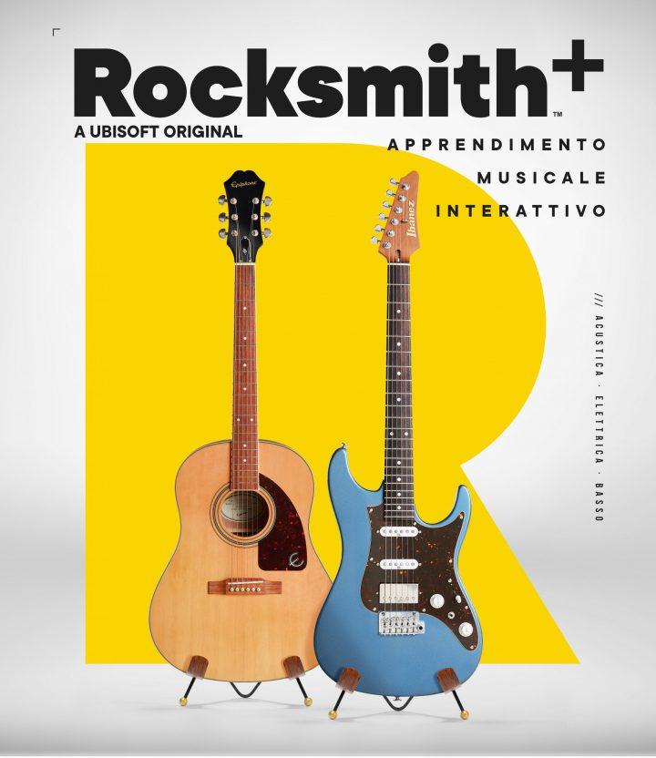 Rocksmith+ apprendimento musicale interattivo