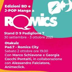 Edizioni BD & J-POP Manga a Romics Reboot 2021!