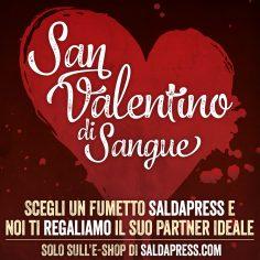 SAN VALENTINO DI SANGUE: la straordinaria promozione saldaPress valida dal 12 al 24 febbraio