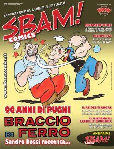 È uscito il numero 44 di SBAM! COMICS