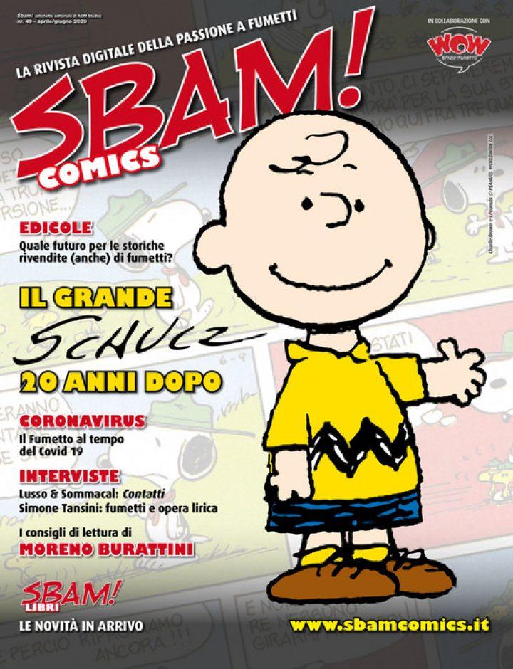 È uscito il nr. 49 di SBAM! COMICS