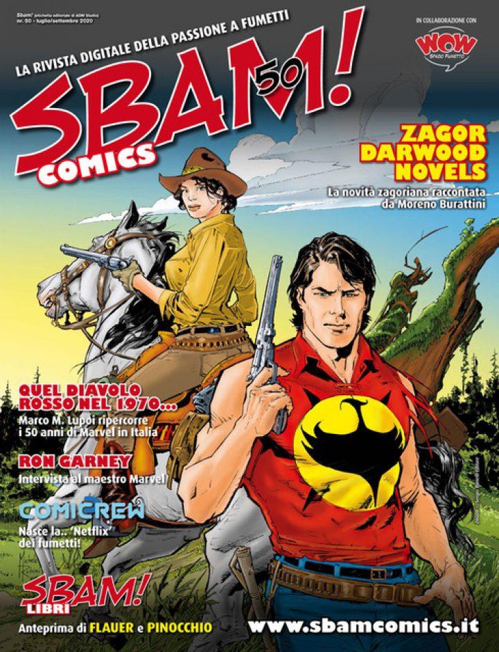 È uscito il nr. 50 di SBAM! COMICS