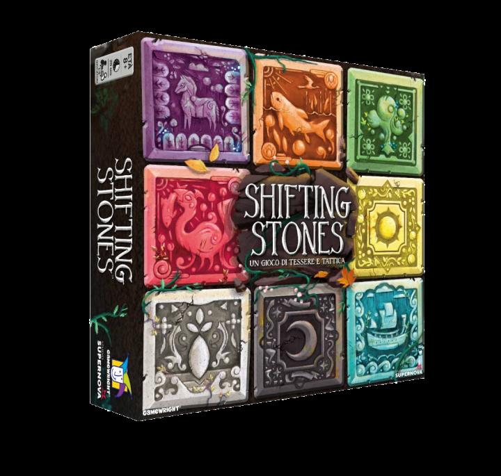 Shifting Stones di J. Evan Raitt – Gamewright