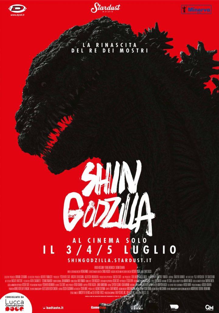 Shin Godzilla si abbatte nei cinema italiani il 3-4-5 luglio