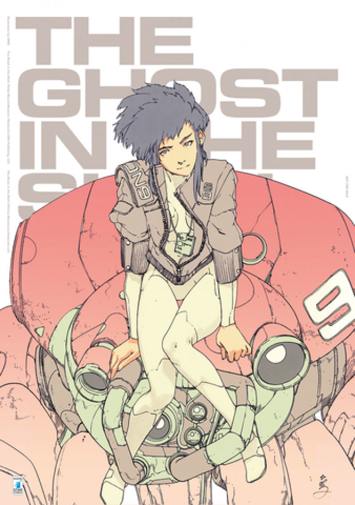THE GHOST IN THE SHELL: GLOBAL NEURAL NETWORK: A LUCCA C&G 2019 LO SPECIALE POSTER REALIZZATO DA LRNZ!