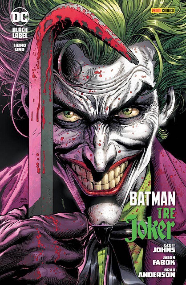 PANINI COMICS presenta BATMAN – TRE JOKER