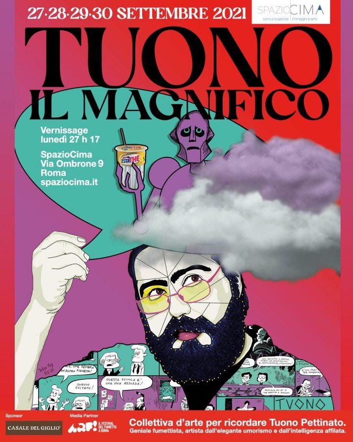 Tuono il magnifico – a Roma Galleria SpazioCima ospita la mostra-evento in ricordo di Tuono Pettinato