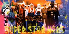 Super Star Wars: pop art stellare